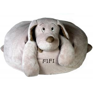 Dimpel - 810381 - Fifi sac coussin chien - beige-gris (172779)