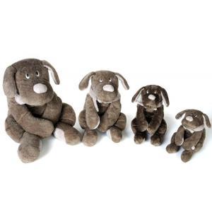 Dimpel - 810043 - Peluche chien  Fifi 20 cm brun gris (172787)