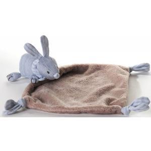 Dimpel - 881218 - Doudou lapin LILA bleu (172867)