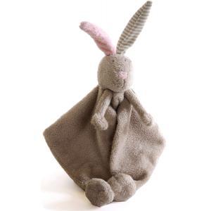 Dimpel - 875940 - Doudou lapin LiLou beige gris (172905)