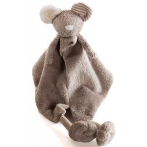 Dimpel - 877734 - Doudou souris MANOU beige gris (173011)