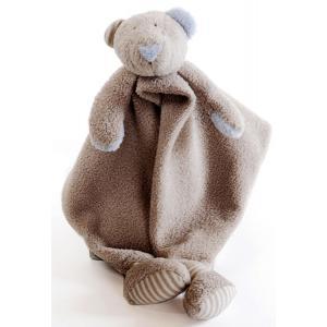 Dimpel - 879333 - Doudou ours Patou beige gris (173113)