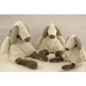 Dimpel - 890162 - Doudou chien Tobias 30 cm - creme (173183)