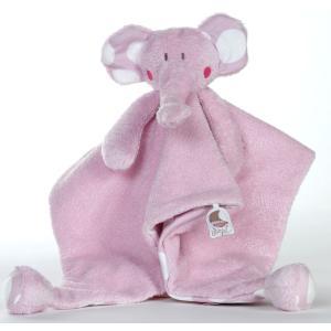 Dimpel - 821054 - Doudou éléphant BOLLI PP rose (173219)