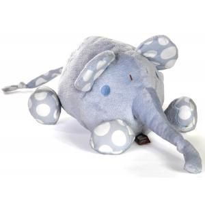 Dimpel - 821522 - Peluche éléphant BOLLI PP 20 cm bleu (173231)