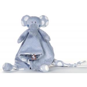 Dimpel - 821561 - Doudou éléphant BOLLI PP bleu (173237)