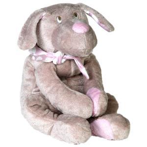 Dimpel - 820027 - Fifi doudou chien 40 cm - beige et rose (173251)