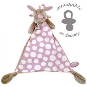 Dimpel - 820053 - Fifi chien doudou - beige et rose (173255)