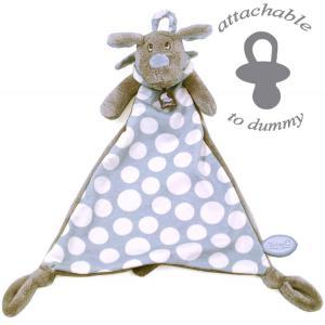 Dimpel - 820560 - Fifi chien doudou - beige et bleu (173271)