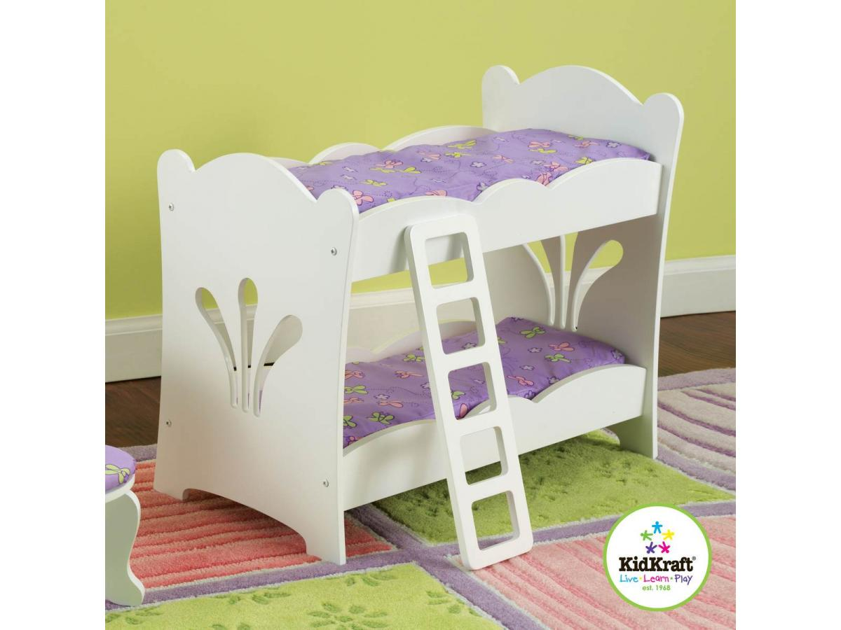 kidkraft lits superpos s p 39 tite poup e. Black Bedroom Furniture Sets. Home Design Ideas