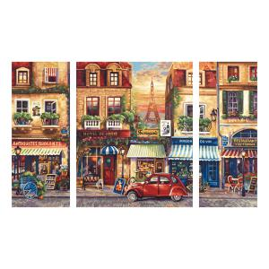 Schipper - 609260626 - Peinture aux numeros - Paris Nostalgie - Cadre 50/80 (176223)