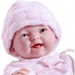 Berenguer - 18453 - Poupon Newborn Nouveau né sexué garçonbouche semi-ouverte 24 cm (176267)