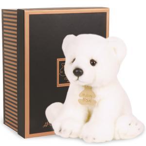 Histoire d'ours - HO2211 - Peluche Les authentiques - ours polaire 20 cm (176373)