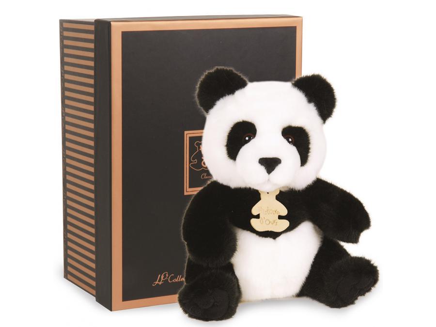 histoire d 39 ours peluche les authentiques panda 20 cm. Black Bedroom Furniture Sets. Home Design Ideas