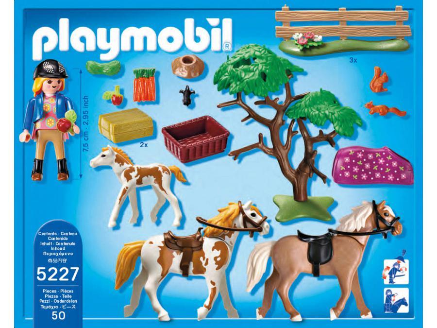 Playmobil chevaux et enclos - Playmobil haras ...