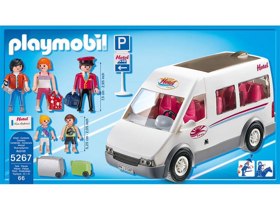 playmobil mini bus de l 39 h tel. Black Bedroom Furniture Sets. Home Design Ideas