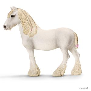 Schleich - 13735 - Figurine Jument Shire - Dimension : 13,5 cm x 4 cm x 12,5 cm (176971)