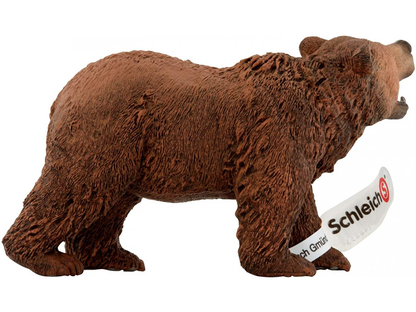 SHL14685 Figurine de l/'univers des animaux sauvages Ours Grizzly