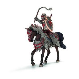Schleich - 70101 - Figurine Chevalier dragon à cheval avec fléau d'armes (177105)