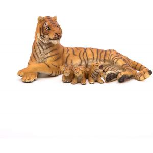 Papo - 50156 - Figurine Tigresse couchée allaitant (177199)