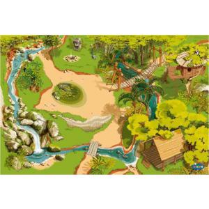Papo - 60503 - Le tapis de jeu Jungle - Dim. 133 cm x 95 cm x 0,02 cm (177205)