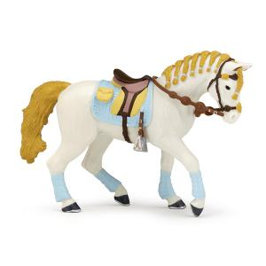 Papo - 51545 - Figurine Cheval de la cavalière fashion bleue (177211)
