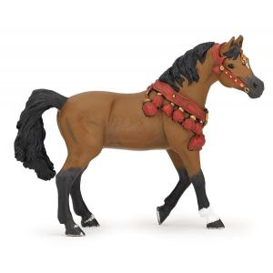 Papo - 51547 - Figurine Cheval arabe en tenue de parade (177213)