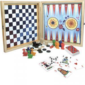Vilac - 8635 - Ma jolie boîte de jeux bucoliques par Nathalie Lété - à partir de 4+ - Origine France (178069)