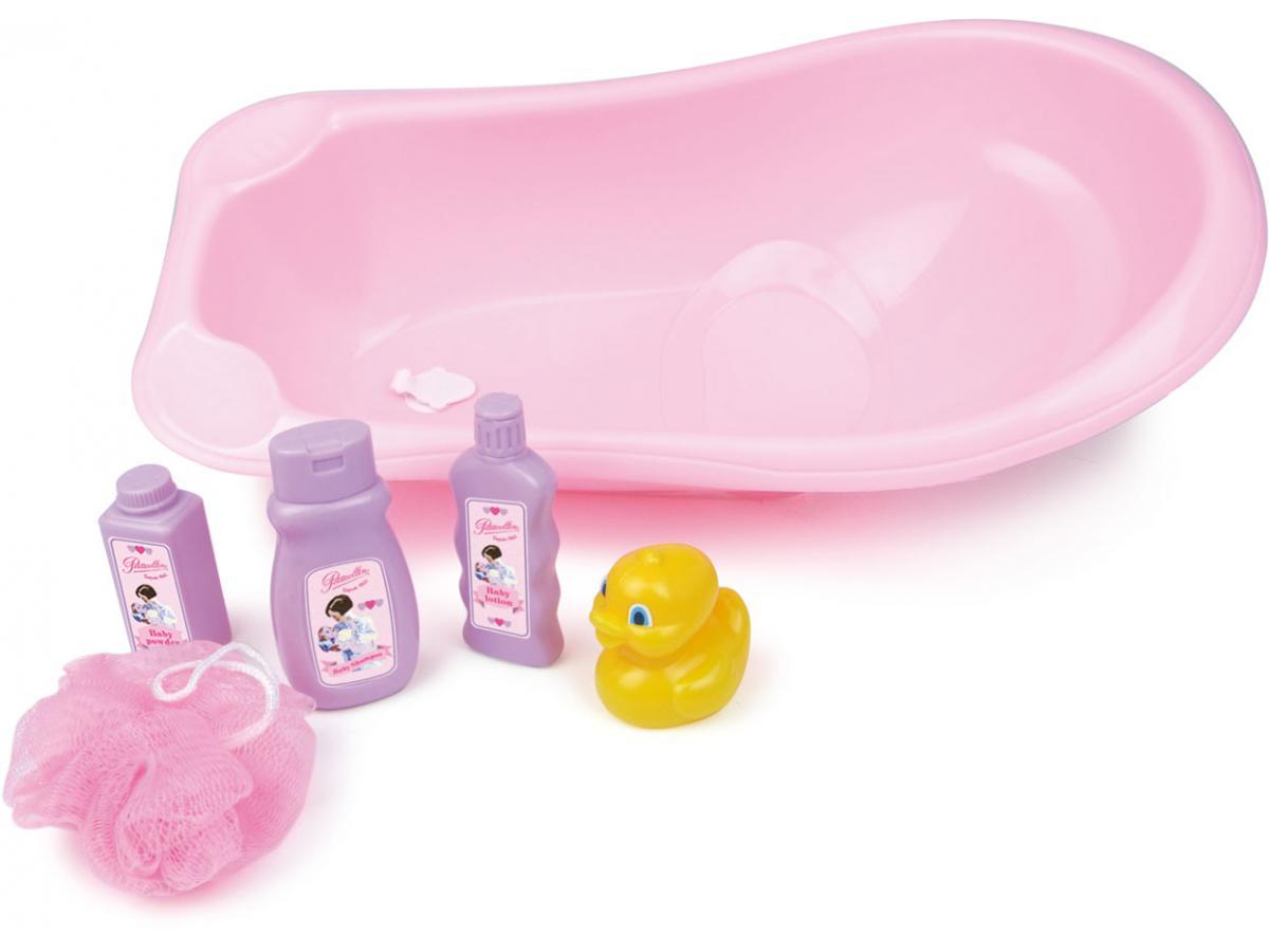 Petitcollin baignoire et accessoires pour poup e jusqu 39 for Baignoire et accessoires