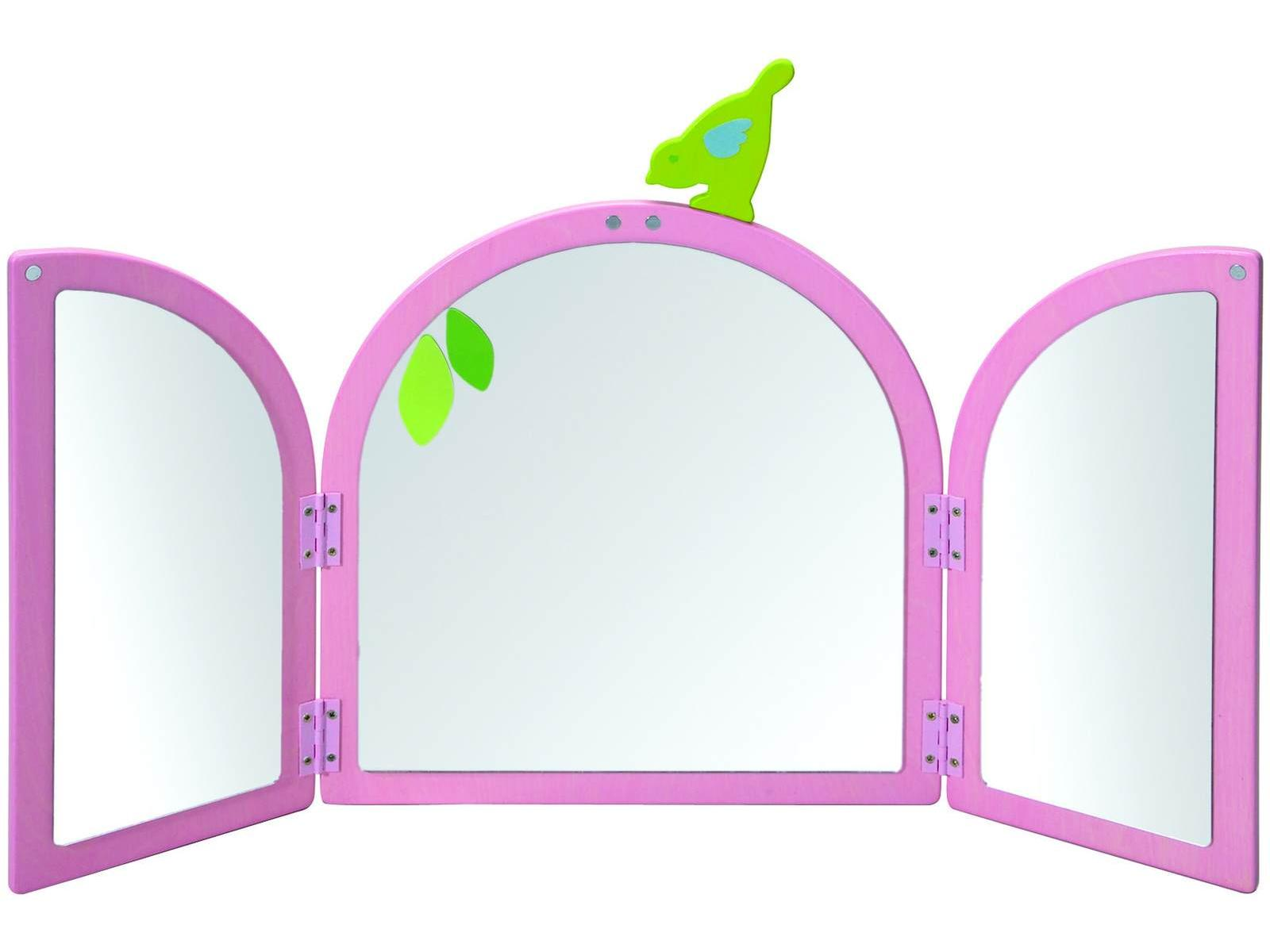 Miroir fille for Miroir un paradis