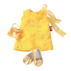 Gotz - 3402194 - Robe jaune avec chaussures pour poupées de 45-50cm (179979)
