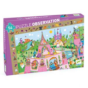 Djeco - DJ07556 - Puzzles observation -  Princesses - 54 pièces (1803)