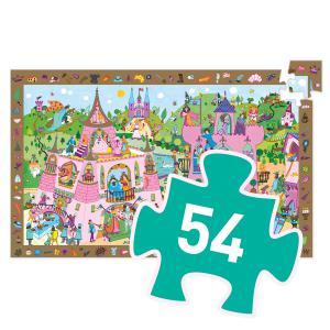 Djeco - DJ07556 - Puzzle observation Princesses - 54 pièces (1803)