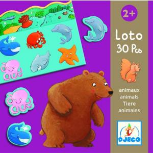 Djeco - DJ08120 - Jeux éducatifs loto des animaux (1816)