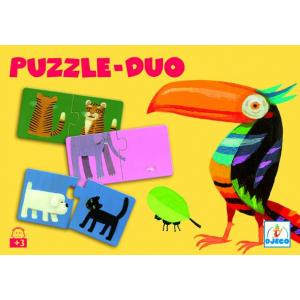 Djeco - DJ08150 - Puzzle duo-trio Puzzle Je compte (1822)