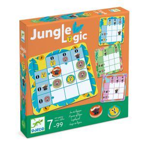 Djeco - DJ08450 - Jeu Jungle logic (1844)