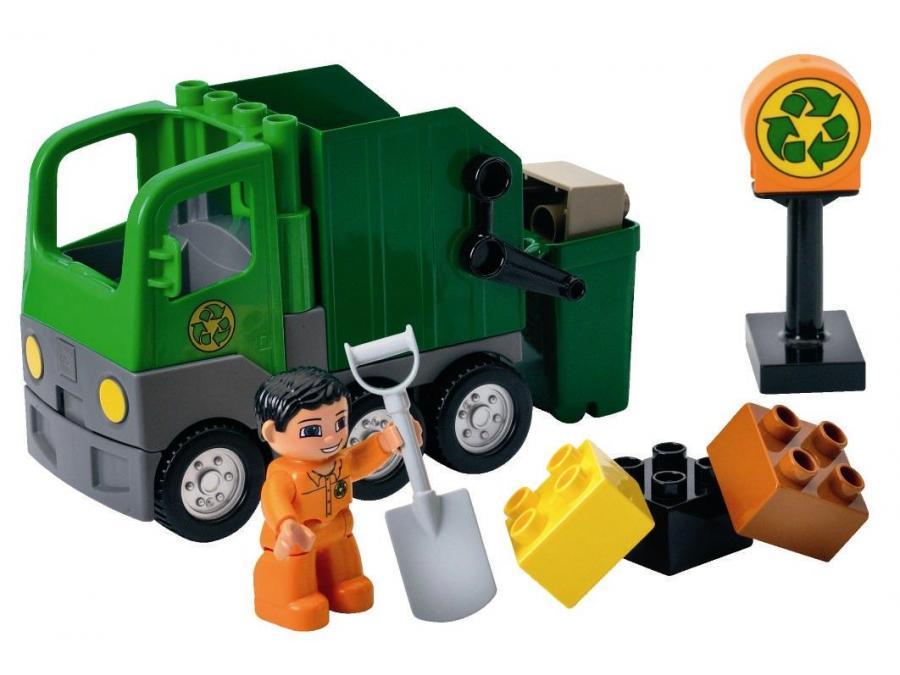 lego le camion poubelle. Black Bedroom Furniture Sets. Home Design Ideas