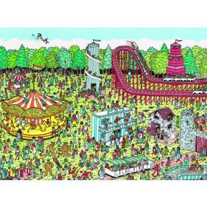 Nathan puzzles - 87114 - Puzzle 500 pièces - Nathan - Charlie à la fête foraine / Où est Charlie ? (180138)