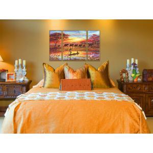 Schipper - 609260627 - Peinture aux numeros - Afrique - le charme d'un continent 50x80cm (180193)