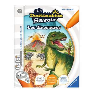 Ravensburger - 00599 - Livres tiptoi® Destination Savoir - Les dinosaures (180473)