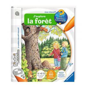Ravensburger - 00593 - Livres tiptoi® J'explore la forêt (180477)