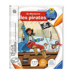 Ravensburger - 00591 - Livres tiptoi® Je découvre les pirates (180479)