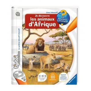 Ravensburger - 00592 - Jeux éducatifs Tiptoi - Je découvre les animaux d'Afrique (180481)