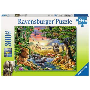 Ravensburger - 13073 - Puzzle 300 pièces XXL - Un coucher de soleil à l'oasis (180531)