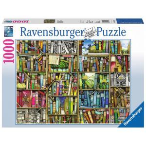 Ravensburger - 19137 - Puzzle 1000 pièces - Bibliothèque magique (180577)