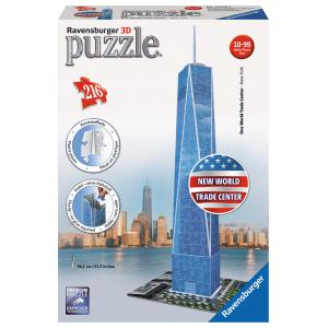 Ravensburger - 12562 - Puzzle 3D Building 216 pièces - One World Trade Center (180619)