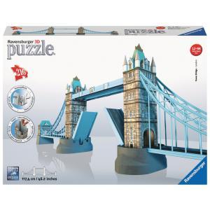 Ravensburger - 12559 - Puzzle 3D Building - Collection maxi - Tower Bridge / Londres (180621)