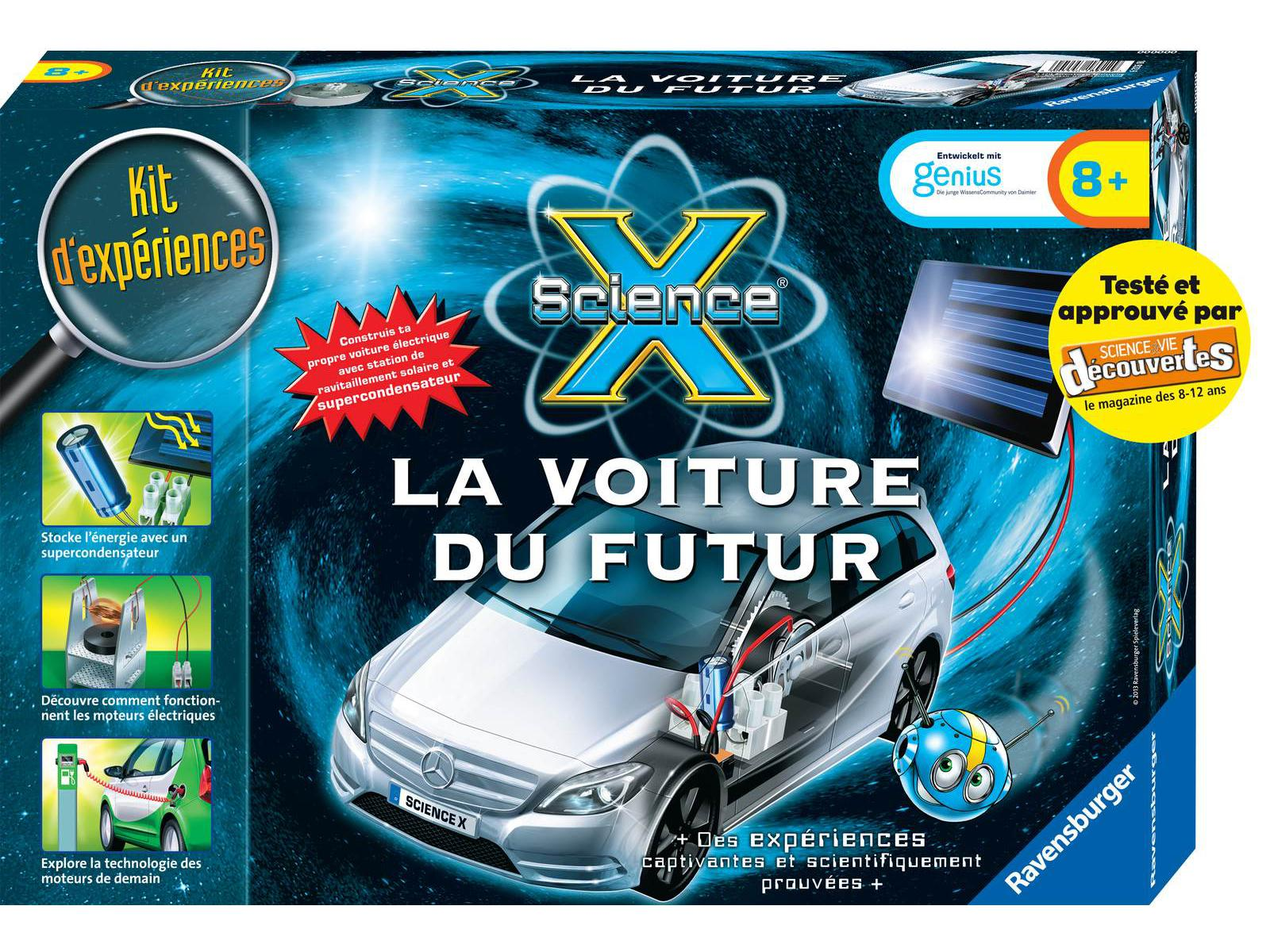 ravensburger maxi science x la voiture du futur. Black Bedroom Furniture Sets. Home Design Ideas