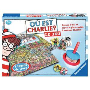 Ravensburger - 26569 - Jeux de société enfants - Où est Charlie ? LE JEU - Jeux de réflexion (180707)