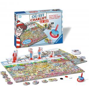 Ravensburger - 26569 - Jeux de société enfants - Jeux de réfléxion - Où est Charlie ? LE JEU (180707)